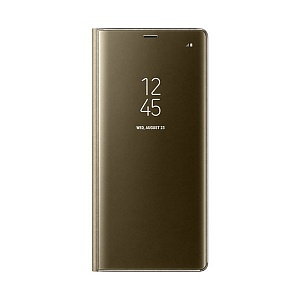 Чехол книжка для Samsung Galaxy Note 8 ClearView EF-ZN950CFEGRU Золотой