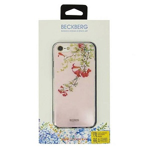 Силиконовый чехол для Apple iPhone 8 Beckberg Surpassingly Beautiful Type A GL-05
