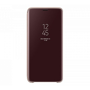 Чехол книжка для Samsung Galaxy S9 Plus ClearView Standing EF-ZG965CFEGRU Золотой