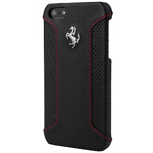 Чехол книжка для Apple iPhone 6S Plus Ferrari Formula One Hard FEFOCHCP6LBL 5 Black