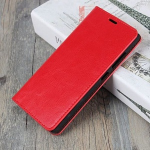 Чехол книжка для Xiaomi Redmi 5 Fashion Case Красный