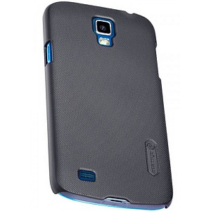 Чехол накладка для Samsung Galaxy S4 Active GT-I9295 Nillkin Super Frosted Shield черный