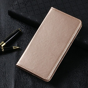 Чехол книжка для Xiaomi Mi6 Plus Book Case Золотой