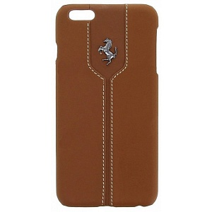 Чехол книжка для Apple iPhone 6S Plus Ferrari Montecarlo Hard FEMTHCP6LKA 3 Camel