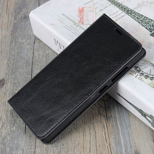 Чехол книжка для Meizu M5C Fashion Case Черный