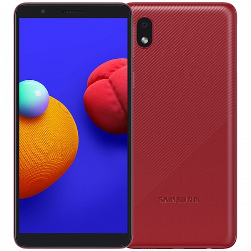 картинка Samsung Galaxy A01 Core 16Gb Red от интернет магазина