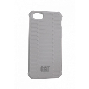 Чехол накладка для Apple iPhone 5S CAT Active Urban CAT-CUCA-WHSI-I5S White