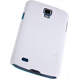 Чехол накладка для Samsung Galaxy S4 i9500 Nillkin Super Frosted Shield белый