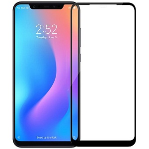 Защитное стекло для Xiaomi Mi8 Nillkin 3D CP+MAX Anti-Explosion Glass Screen Protector Черное