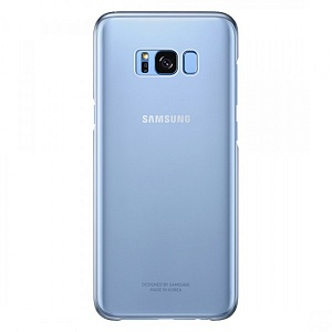 Чехол накладка для Samsung Galaxy S8 Plus Clear Cover EF-QG955CLEGRU Синий