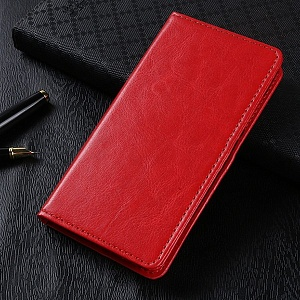 Чехол книжка для Xiaomi Redmi 5 Plus Book Case Красный