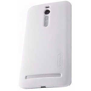 Чехол накладка для Asus Zenfone 2 ZE551ML Nillkin Super Frosted Shield белый
