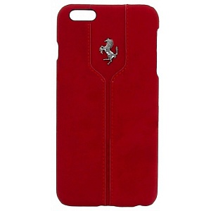 Чехол книжка для Apple iPhone 6S Plus Ferrari Montecarlo Hard FEMTHCP6LRE 2 Red