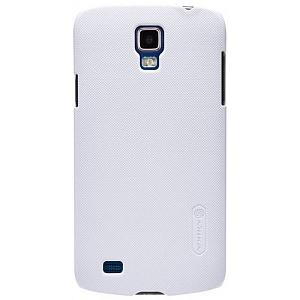 Чехол накладка для Samsung Galaxy S4 Active GT-I9295 Nillkin Super Frosted Shield белый