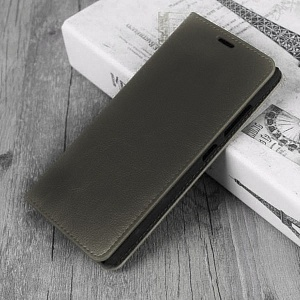 Чехол книжка для Samsung Galaxy S9 Plus Fashion Case Графит